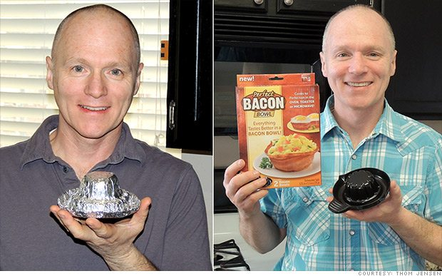 Perfect Bacon Bowl - Is It the Next Snuggie?