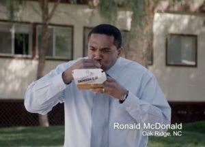 What's in a name? A TV commercial for Ronald McDonald