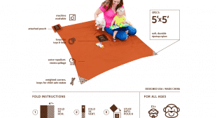 Monkey Mat – Portable Floor Mat
