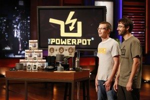PowerPot on Shark Tank Charging Cell Phones
