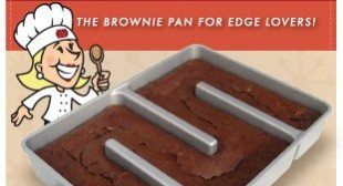 Baker's Edge Seen on Shark Tank | Brownie Pan, Muffin Pan, Lasagna Pan