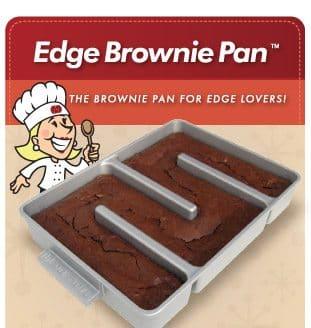 Baker S Edge Seen On Shark Tank Brownie Pan Muffin Pan