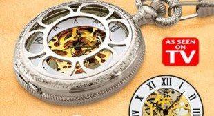 Kansas City Railroad Pocket Watch Exquisite Timepiece