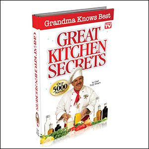 Chef Tony's Great Kitchen Secrets Book