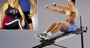 Total Gym Pilates Lean Mean Exercise Machine