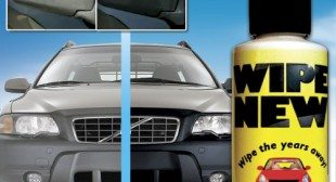 Wipe New Car Headlights Restorer and Cleaner