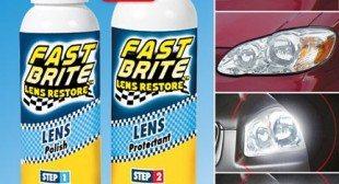 Fast Brite Headlight Cleaner