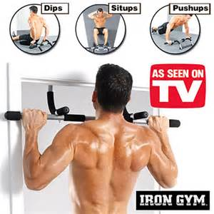 Iron Gym Pull Up Bar Upper Body Work Out