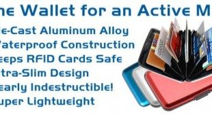 Aluminum Durable Wallet Credit Card Protection