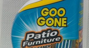 Does it Work? Goo Gone Patio Furniture Cleaner