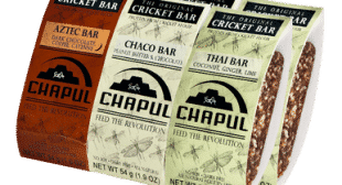 Chapul Bars Cricket Energy Bars Seen on Shark Tank
