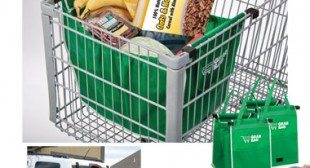 Grab Bags Earth Friendly Shopping Cart Bags