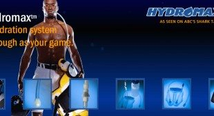 HydroMax Hydration System for Kids Playing Football Seen on Shark Tank