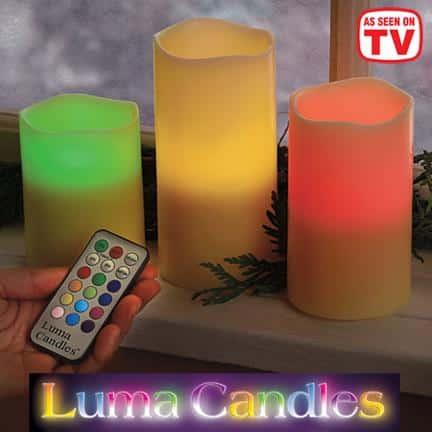 Luma Candles As Seen On TV