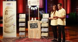 Victoria's Kitchen Almond Water Seen on Shark Tank