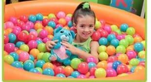 Ball Pets Plush Toy – Stuffed Animal turns into a Ball