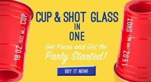 180cup Cup and Shot Glass In One Cup Seen On Shark Tank
