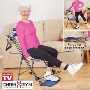 Chair Gym Resistance Workout Chair for Seniors