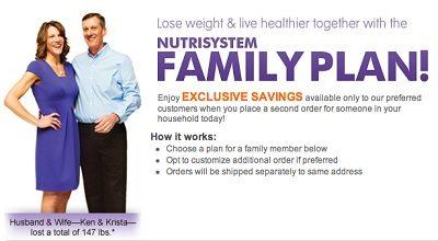 Nutrisystem Family Plan