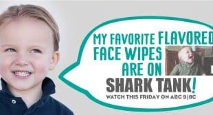 NeatCheeks Flavored Baby Wipes Seen on Shark Tank