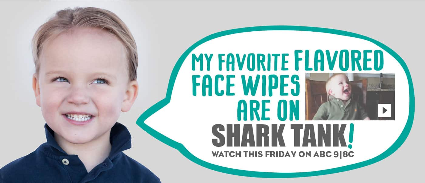 NeatCheeks Flavored Baby Wipes Seen on Shark Tank