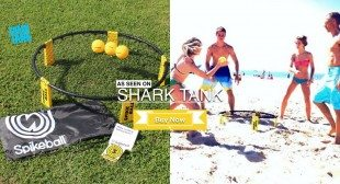 Spikeball Game like Volleyball Seen On Shark Tank
