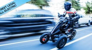 Sway Motorsports Swaying Electric Trike Motorcycle Seen on Shark Tank