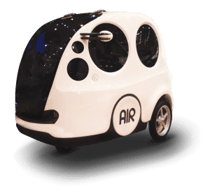 Airpod Car That Runs On Air Seen On Shark Tank