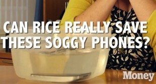 Does Rice Really Work after iPhone Has Been Dropped in Water?