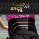 Copper Fit Back Pro Back Support Compression Belt