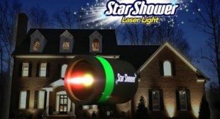 Star Shower Laser Light – Thousands Of Colorful Stars