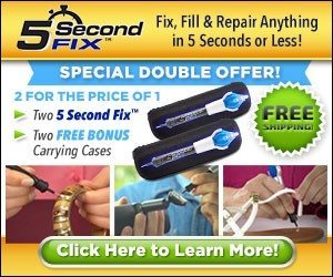 5 Second Fix As Seen On TV