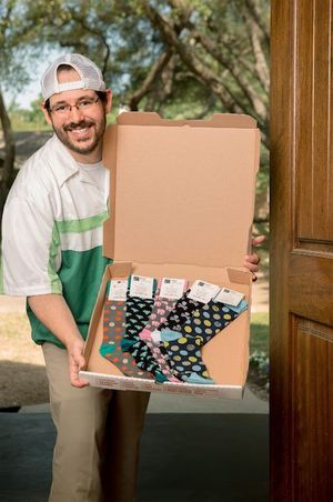 Sock Subscription Service Foot Cardigan is Pitched on TV's 'Shark Tank'
