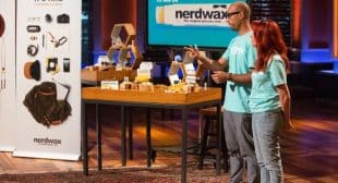 Nerdwax Wax to Keep Eye Glasses in Place on Shark Tank