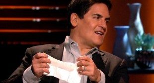 $300,000 investment in wipes for guys by Mark Cuban