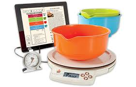 perfect bake app controlled scale measures ingredients