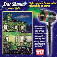 star shower as seen on tv
