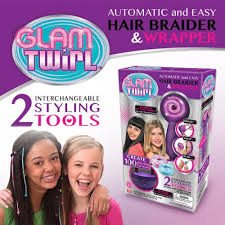 Glam Twirl Automatic Easy Hair Braider and Wrapper!