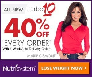 Nutrisystem Turbo 10