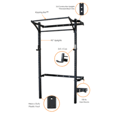 PRx Performance Gym Rack Systems Workout in Small Spaces Shark Tank