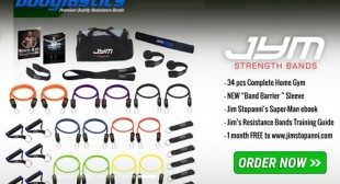 Superior Gym Quality Bodylastics Resistance Bands