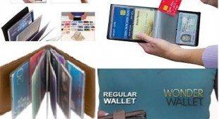 Wonder Wallet As Seen On TV RFID Wallet