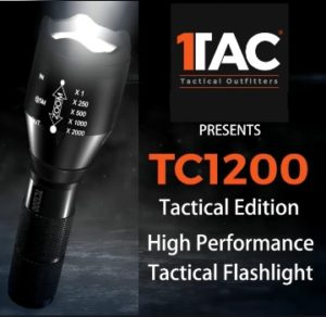 TAC TC1200 Flashlight