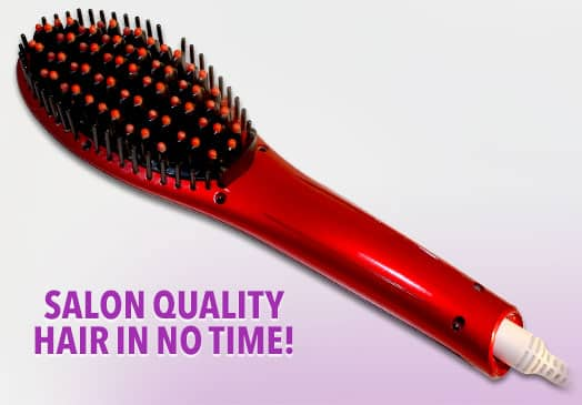 Hot N' Straight | The Best Way To Get Straight, Shiny Hair in just Minutes!