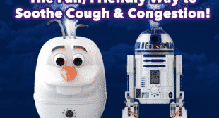 Disney Ultrasonic Cool Mist Humidifiers Frozen and Star Wars