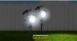 Solar Power Floodlights  from Bell and Howell