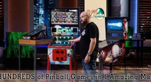 Virtual Pinball Machines by VPcabs Seen on Shark Tank