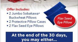 Sobakawa Pillow As Seen On TV – The Ancient Asian Sleep Secret!