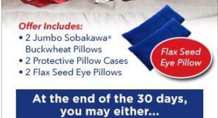 Sobakawa Pillow As Seen On TV – The Ancient Asian Sleep Secret!