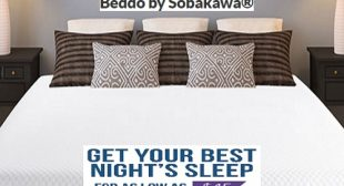 Beddo by Sobakawa Expanding Mattress Sleep Better